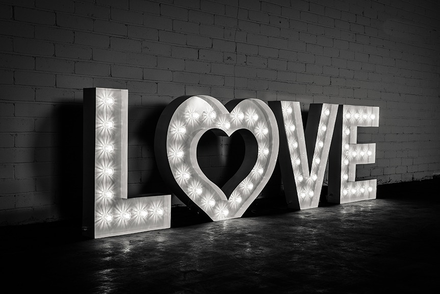 marquee letter 3 foot rent letters With rent marquee letters