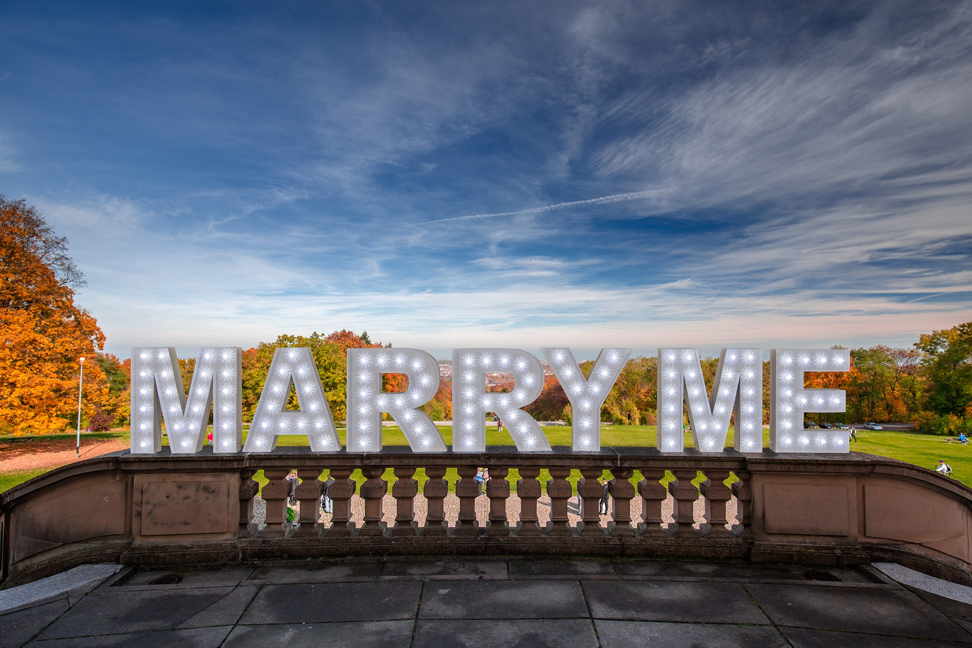 marquee letters for wedding rental